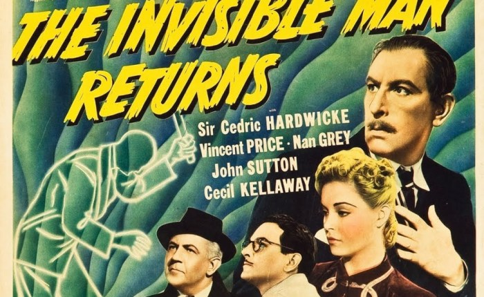 Universal Monsters in Review: The Invisible Man Returns (1940)