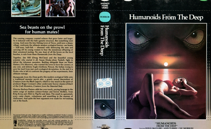 Creature Features in Review: Humanoids from the Deep(1980)